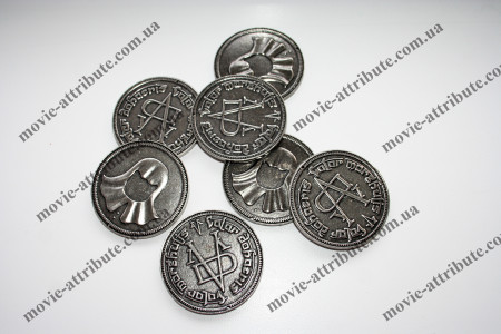 Купить Монету Valar morghulis Игра престолов в Украине