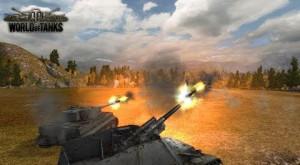 World of Tanks выстрел