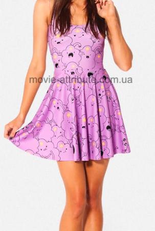 Платье принцесса Пупырка для девушки Adventure Time