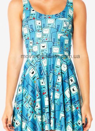 Платье с Бимо для девушки Adventure Time