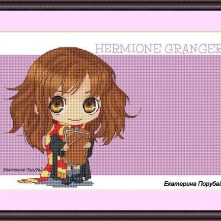Электронная схема для вышивки крестом Гермиона